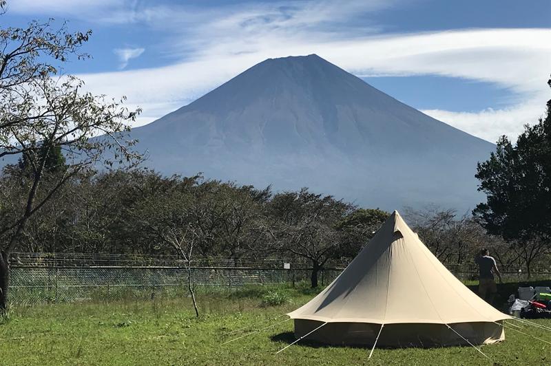 高原 オート 場 朝霧 キャンプ